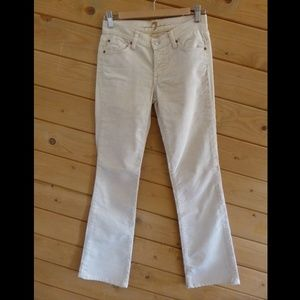 7 for all Mankind thin Corduroy Jeans Boot Cut
